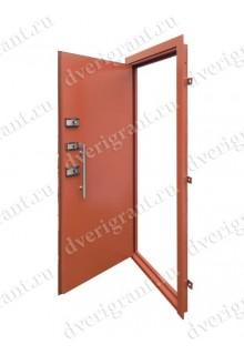 Металлическая бронированная дверь - модель 01-001