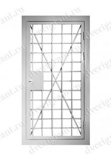 Металлическая бронированная дверь - модель 01-004