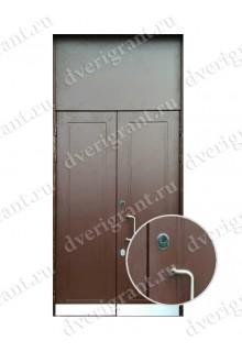 Металлическая бронированная дверь - модель 01-007