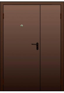 Металлическая тамбурная дверь на площадку - модель 102