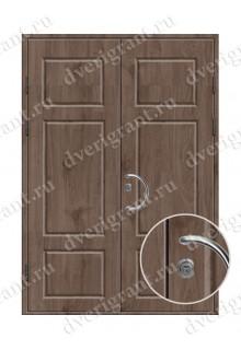 Металлическая нестандартная дверь - модель 14-002