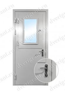 Металлическая нестандартная дверь - модель 14-005