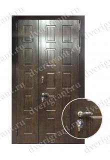 Металлическая нестандартная дверь - модель 14-010