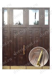 Металлическая нестандартная дверь - модель 14-017