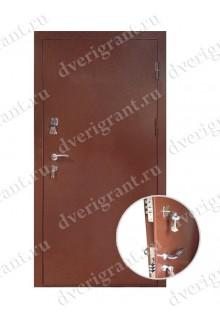 Металлическая входная дверь в квартиру с тепло-шумоизоляцией - модель 17-001