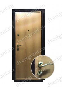 Недорогая металлическая входная дверь в квартиру - модель 17-005