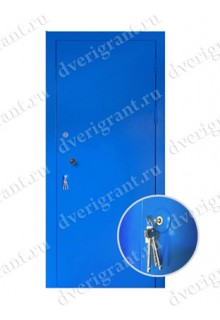 Металлическая входная дверь в квартиру - 17-006