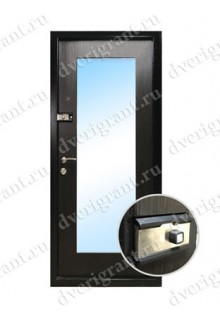 Металлическая входная дверь в квартиру с тепло-шумоизоляцией - модель 17-008