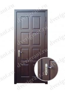 Металлическая входная дверь в квартиру с тепло-шумоизоляцией - модель 17-011