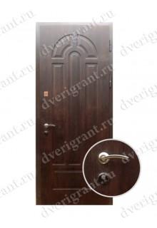 Металлическая входная дверь в квартиру с тепло-шумоизоляцией - модель 17-012