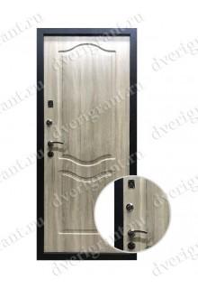 Металлическая входная дверь в квартиру с тепло-шумоизоляцией - модель 17-020