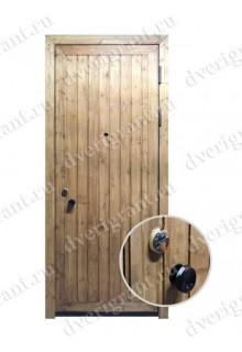 Металлическая дверь для коттеджа - модель 19-001