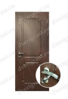 Металлическая дверь для коттеджа - модель 19-010