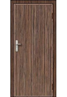 Недорогая металлическая входная дверь в квартиру - модель 17-026