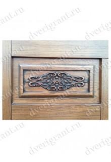 Металлическая элитная дверь для коттеджа - модель 24-002