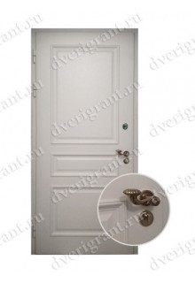 Металлическая элитная дверь для коттеджа - модель 24-007