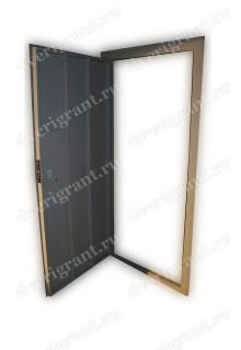 Недорогая строительная дверь - модель 23-009