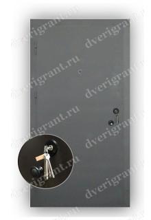 Металлическая дешевая дверь - модель 303
