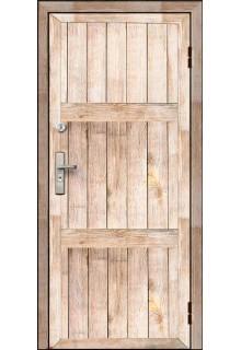 Дверь входная металлическая для дачи - модель 18-010