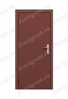 Недорогая одностворчатая противопожарная дверь EI-60 (ДПМ-1-60)