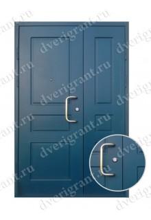 Металлическая дверь в подъезд - модель 02-003