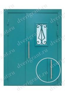 Металлическая дверь в подъезд - модель 02-004