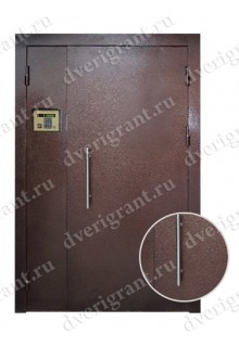 Металлическая дверь в подъезд - модель 02-005