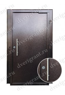 Металлическая дверь в подъезд - модель 02-006
