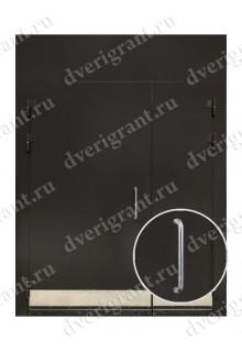 Металлическая дверь в подъезд - модель 02-010