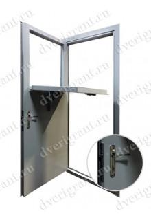 Металлическая дверь для кассовой комнаты - модель 03-002