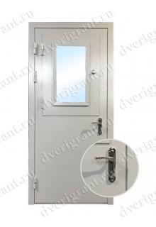 Металлическая дверь для кассовой комнаты - модель 03-003