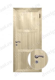 Металлическая дешевая дверь - модель 06-001