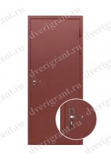 Металлическая дешевая дверь - модель 06-005