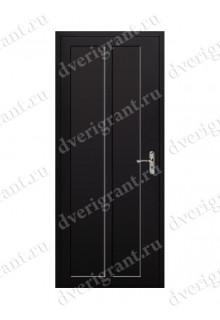 Металлическая дешевая дверь - модель 06-006