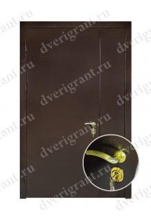 Металлическая дверь для учреждения - модель 12-004
