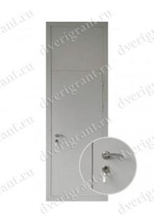 Металлическая дверь для учреждения - модель 12-013