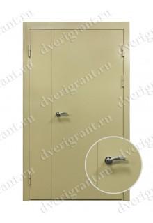 Металлическая дверь для учреждения - модель 12-015