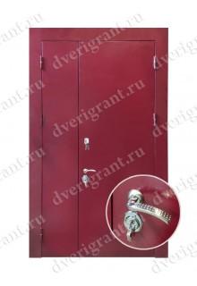 Металлическая дверь для учреждения - модель 12-017