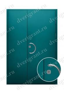 Металлическая дверь для учреждения - модель 12-018
