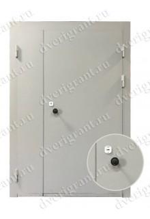 Недорогая металлическая дверь на заказ - модель 13-001