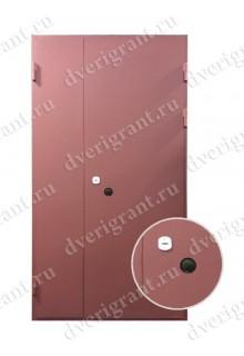 Недорогая металлическая дверь на заказ - модель 13-004