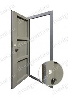 Недорогая металлическая дверь на заказ - модель 13-005