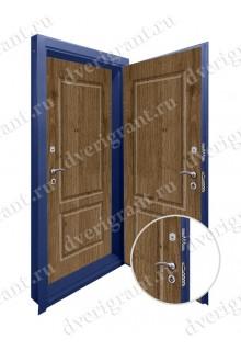 Двойная металлическая входная дверь в квартиру - модель 17-027