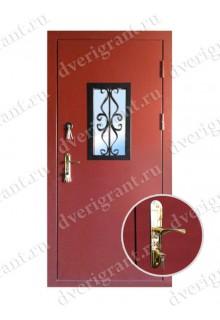 Металлическая дверь для дачи - модель 18-003