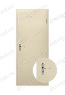 Металлическая дверь для дачи - модель 18-004