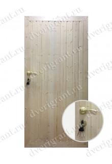 Металлическая дверь для дачи - модель 18-007