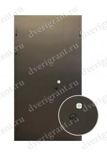 Металлическая строительная дверь - модель 23-003