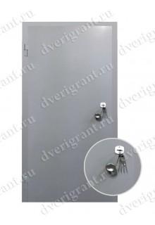 Металлическая строительная дверь - модель 23-005