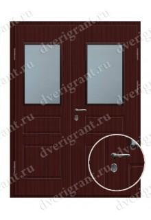 Металлическая уличная дверь в загородный дом - 24-016