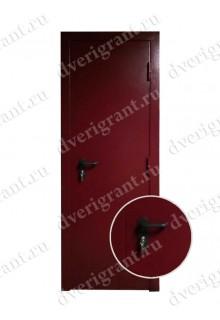 Нестандартная узкая металлическая дверь - модель 08-001